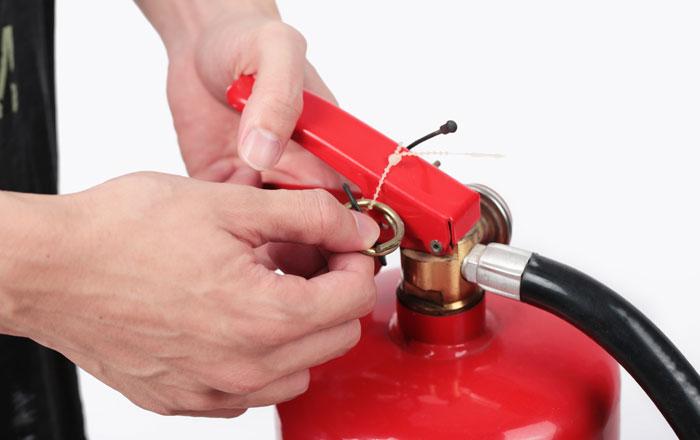 Συντήρηση πυροσβεστήρων